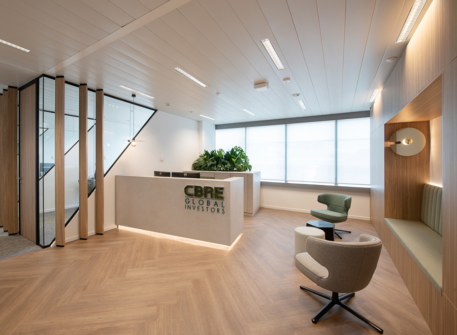 Offices of CBRE Global Investors Belgium and CBRE Global Investment Administration Belgium